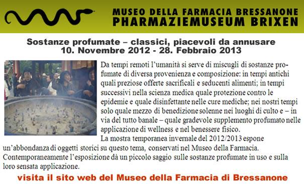 Visita il museo della Farmacia di Bressanone