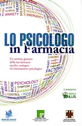 Nuovo servizio: lo Psicologo in Farmacia. Clicca qui per saperne di più