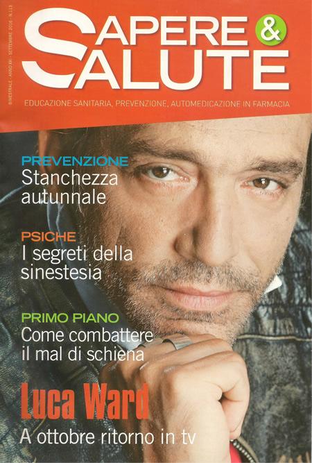 Sapere & Salute: rivista di informazione sanitaria distribuita gratuitamente alla clientela
